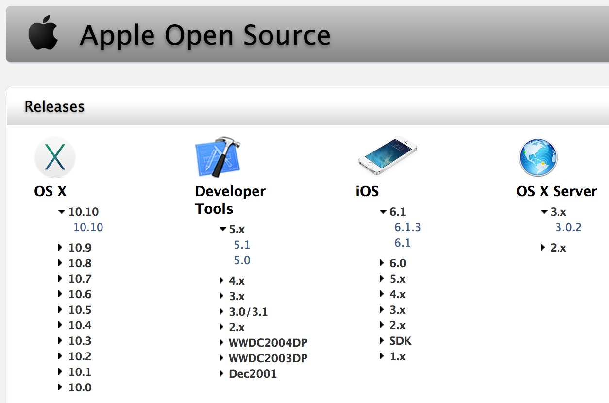 Apple-10-10-yosemite-code-darwin-open-source