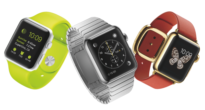Apple Watch press