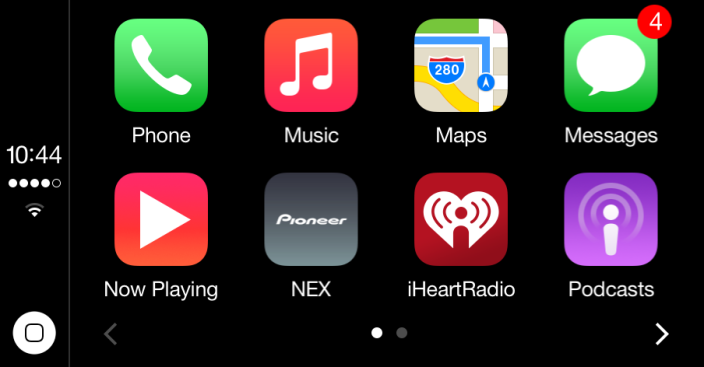iHeartRadio CarPlay