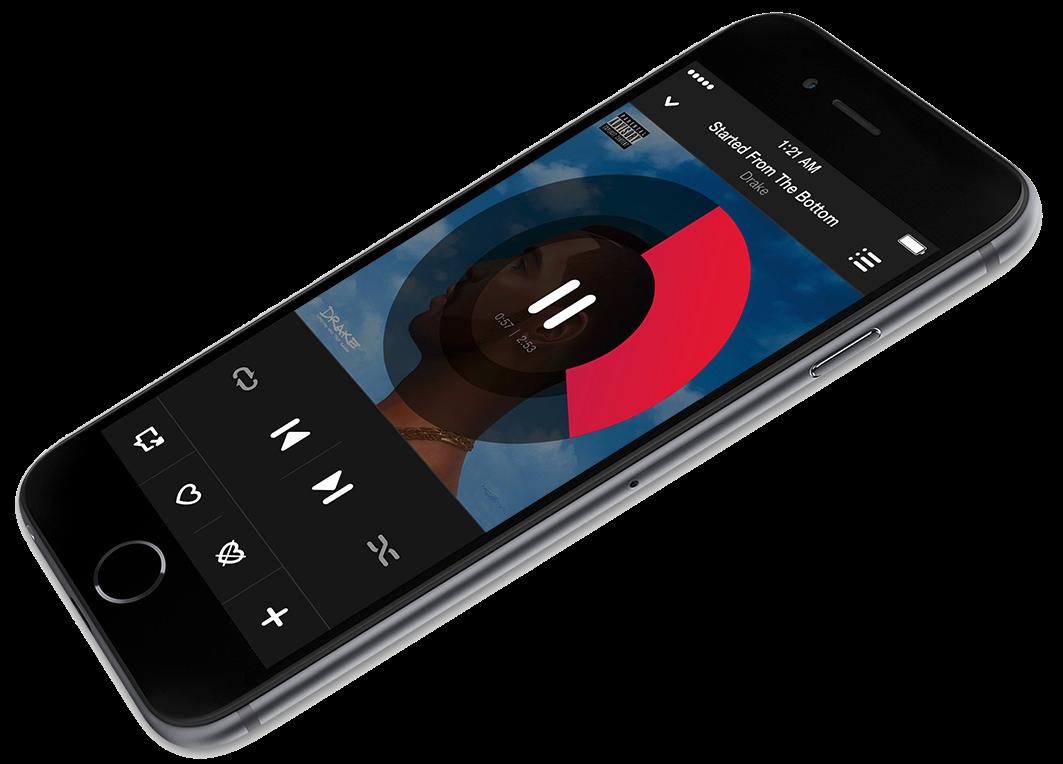 iPhone 6 Beats Music