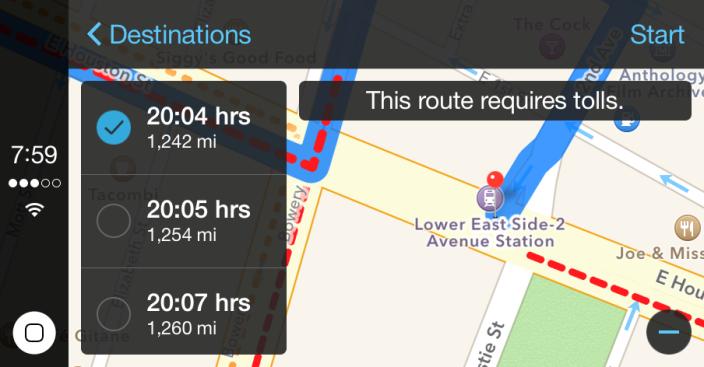 Maps details