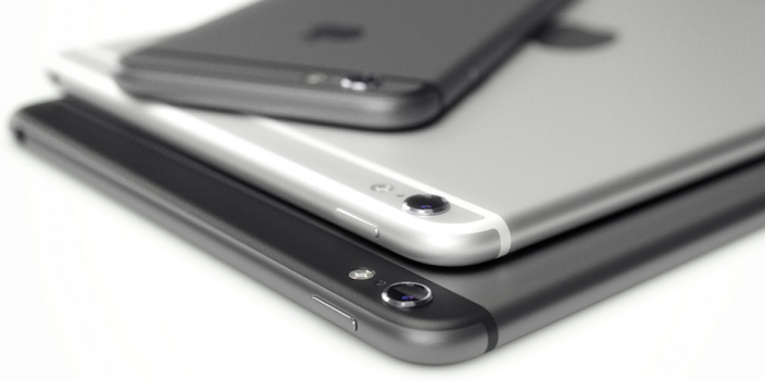 Martin Hajek iPad render iPhone 6 style