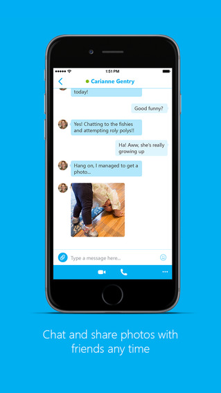 Skype-iPhone-chat