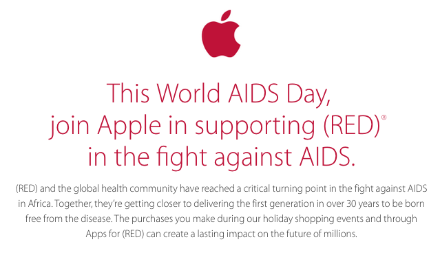 Apple World AIDS Day 2014
