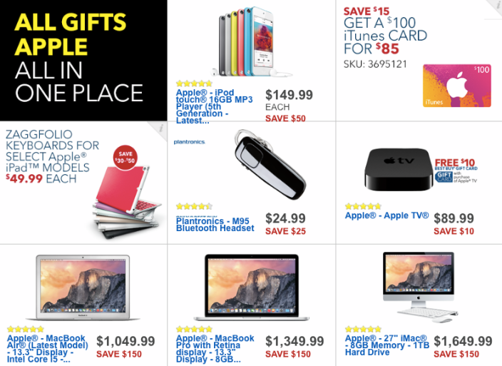 Best Buy S Black Friday 2014 Apple Deals Ipad Air 2 100 Off Beats Solo 80 Macbook Air From 780 More 9to5mac