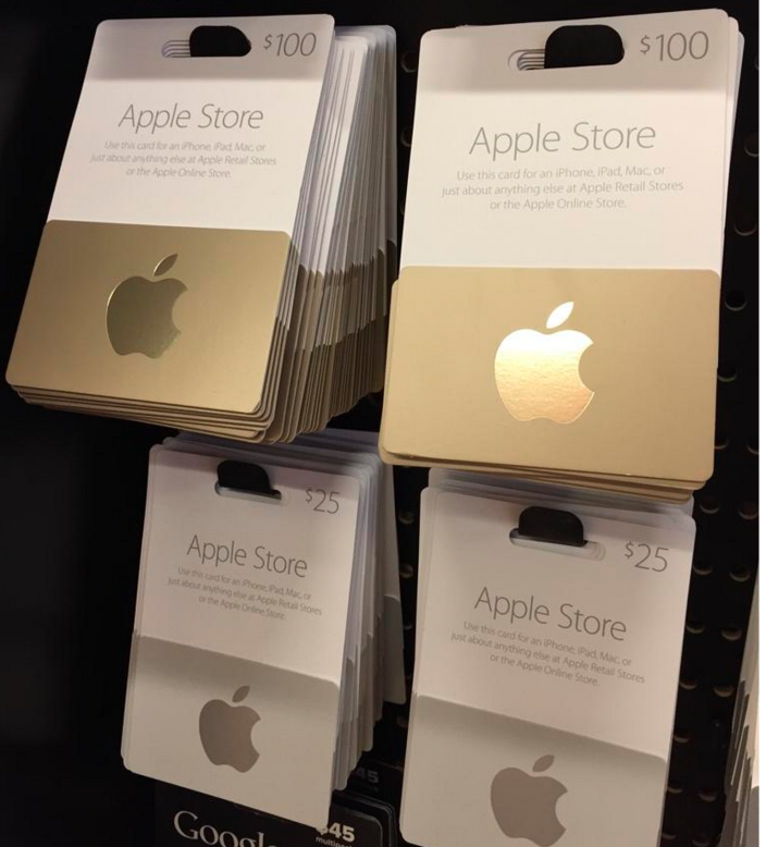 Gift-cards-gold-Apple