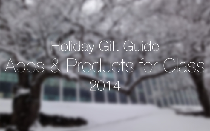 Holiday Gift Guide students