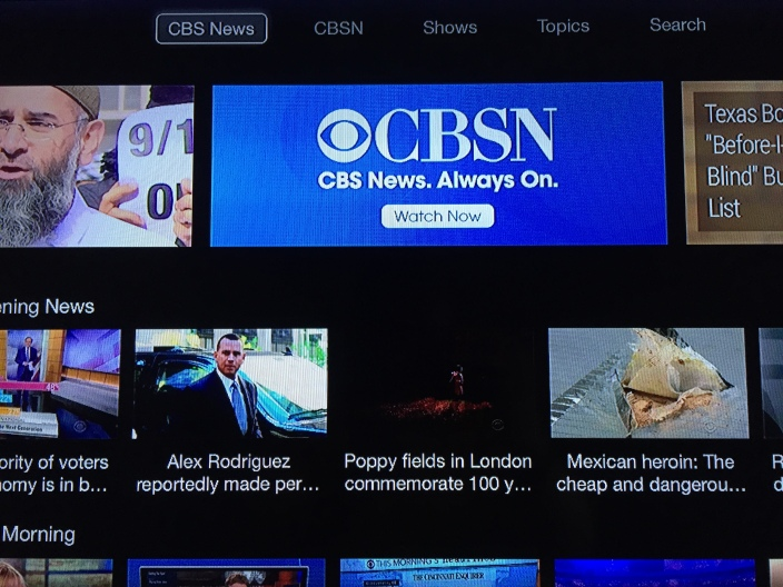 CBSN Apple TV