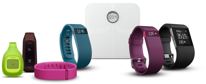 Fitbit lineup