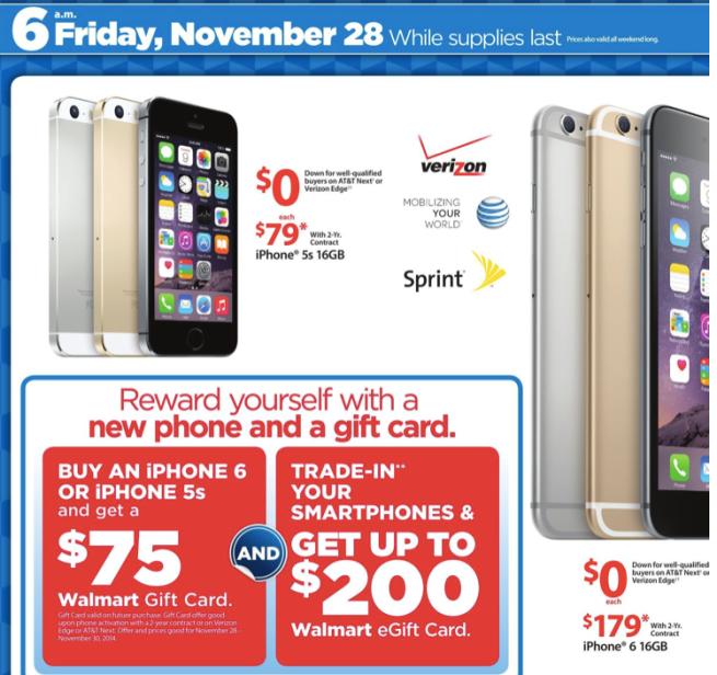 Walmart S Black Friday Apple Deals Revealed Ipad Mini W