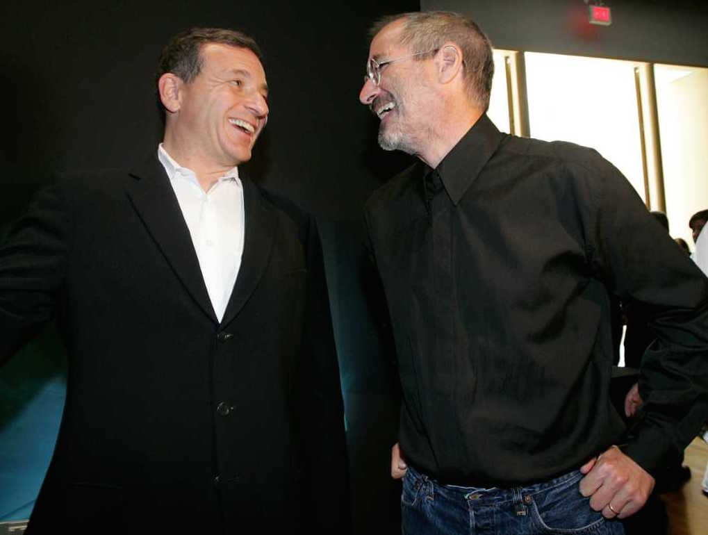 Disney CEO Bob Iger Steve Jobs