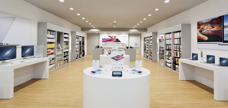 An Apple Premium Reseller store in India