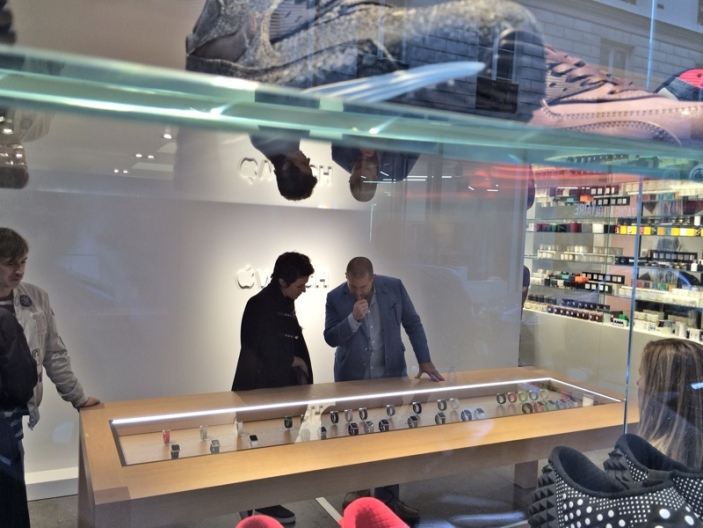 Apple Watch at Colette