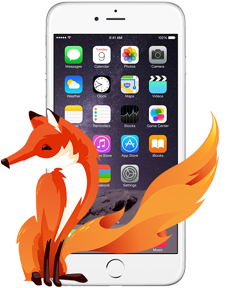 iPhone 6 Firefox
