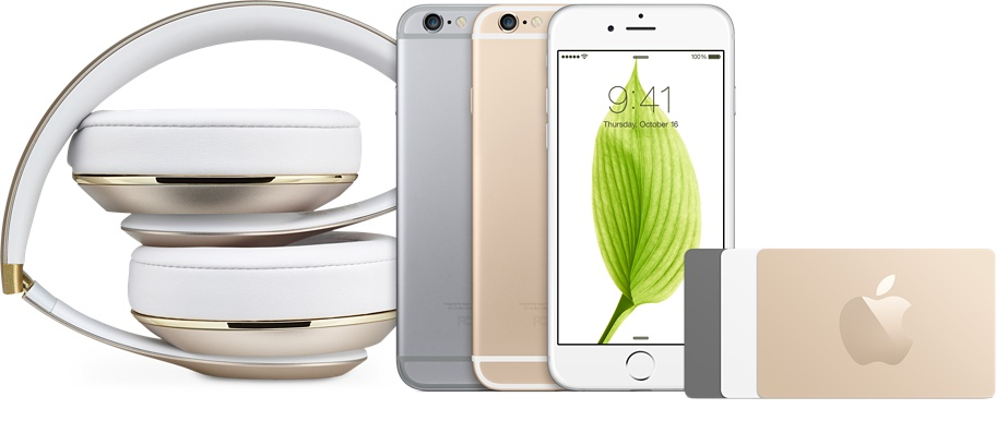 Beats iPhone 6 Apple gift cards
