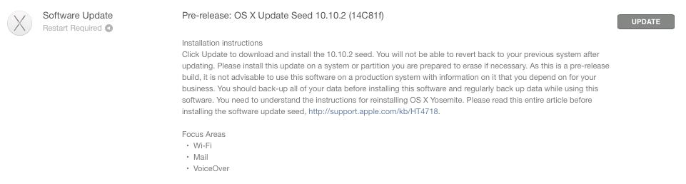 Yosemite 10.10.2 beta