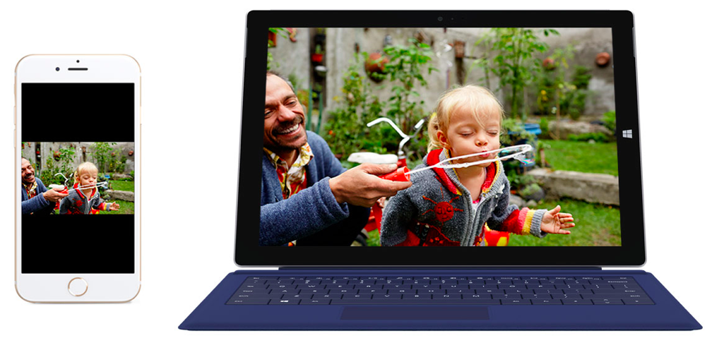 iPhone 6 Surface Pro 3