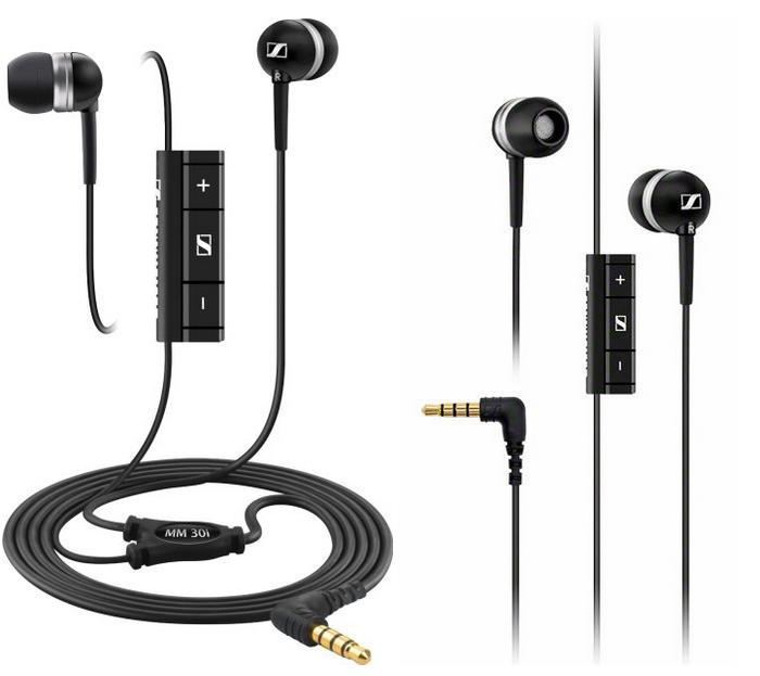 Sennheiser MM30 in-ear headphones w: mic & remote-sale-01