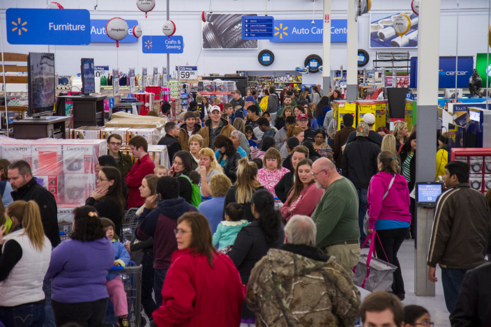 Walmart's Black Friday Starts Strong in Bentonville