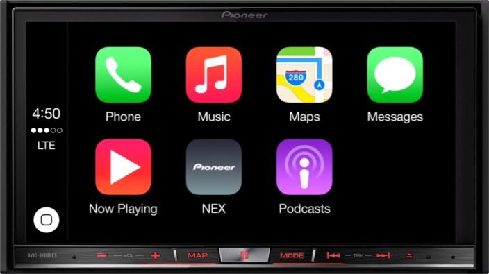 Pioneer NEX 8100 CarPlay