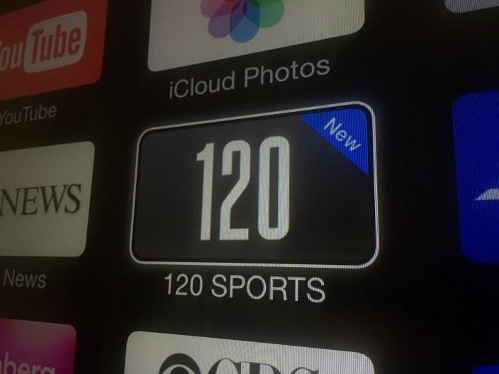 Apple TV 120 SPORTS