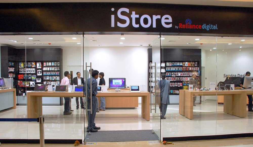 An Apple reseller in India (photo: indiaprwire.com)