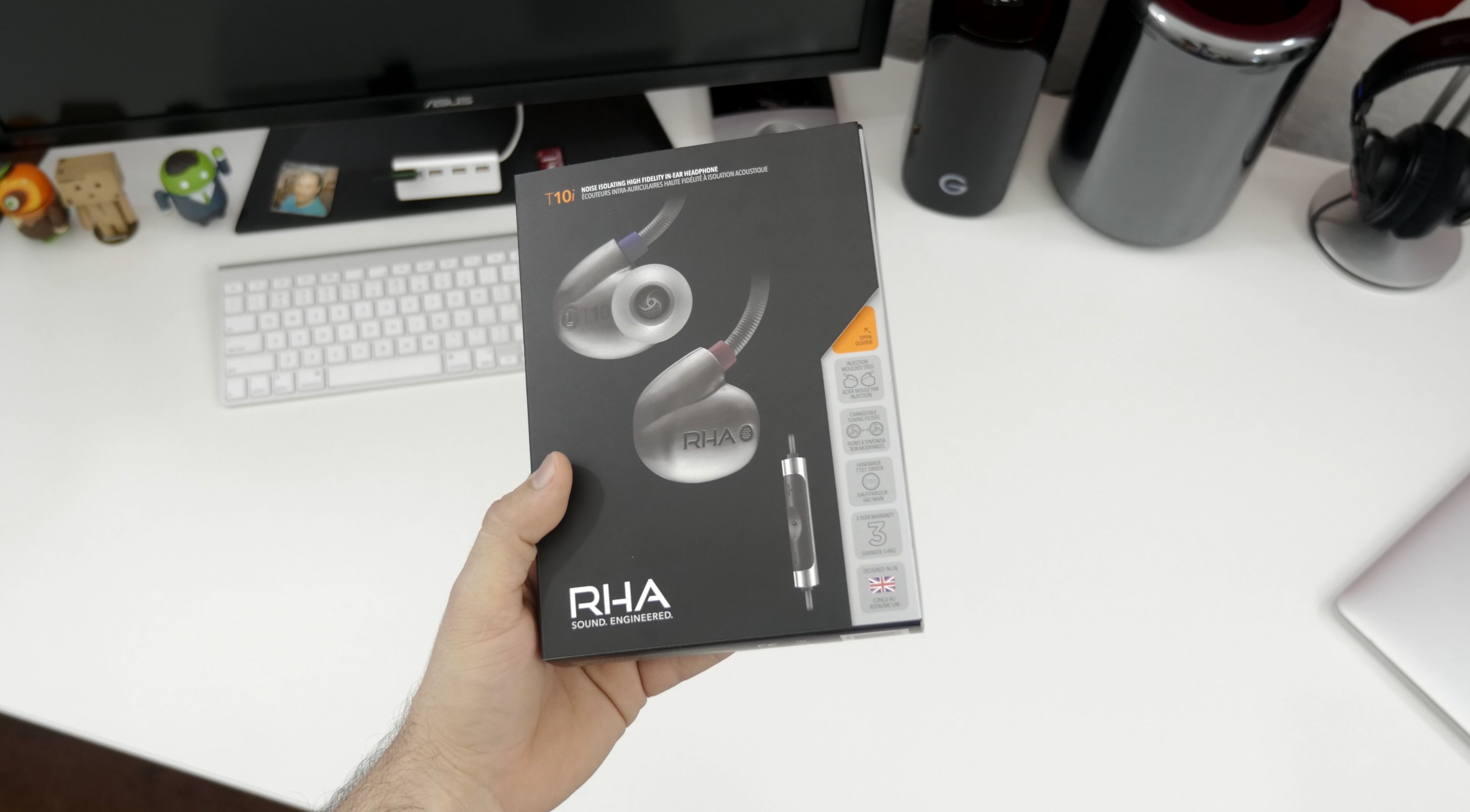 Review: RHA's T10i in-ear headphones are iPhone-friendly
