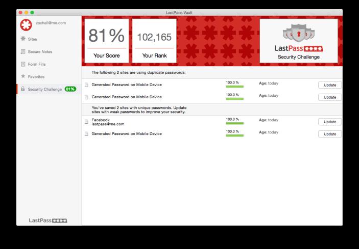 LastPass Mac