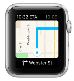 Apple Watch + Maps
