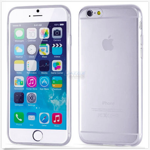 Ultra Thin Soft TPU Transparent Clear Skin Case Cover for iPhone 6:Plus (multiple colors)-sale-01