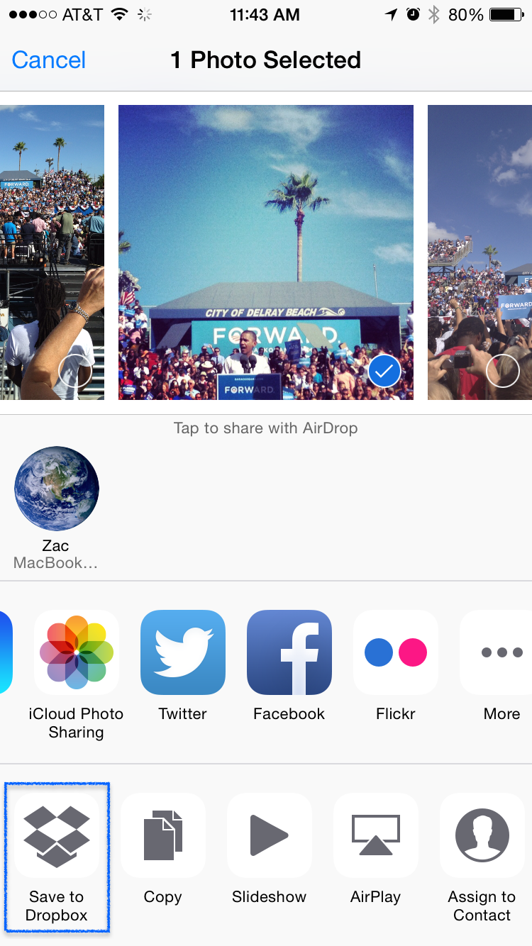Dropbox gets more powerful on iOS 8 with new sharing extension - 9to5Mac