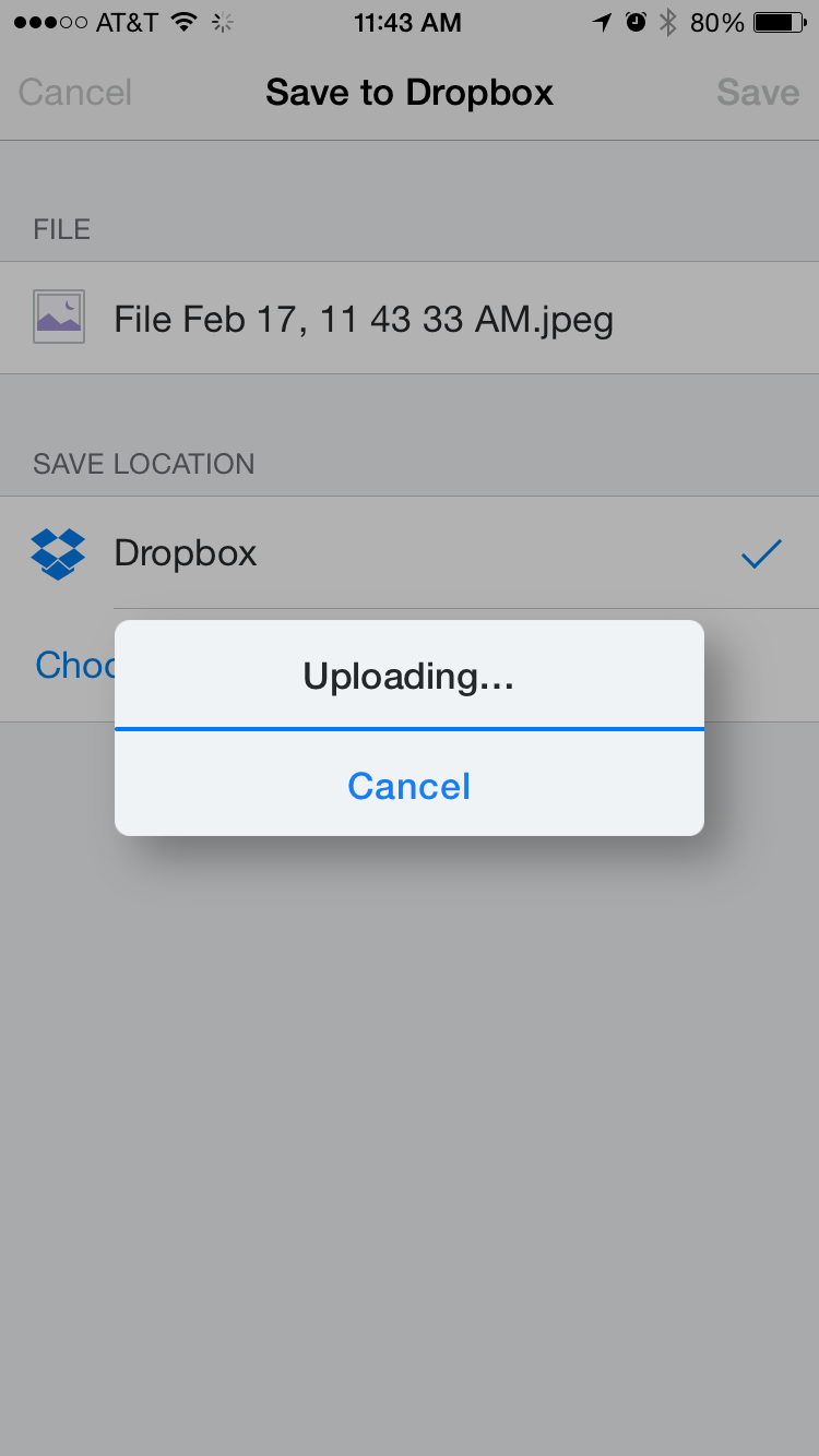 Dropbox gets more powerful on iOS 8 with new sharing
