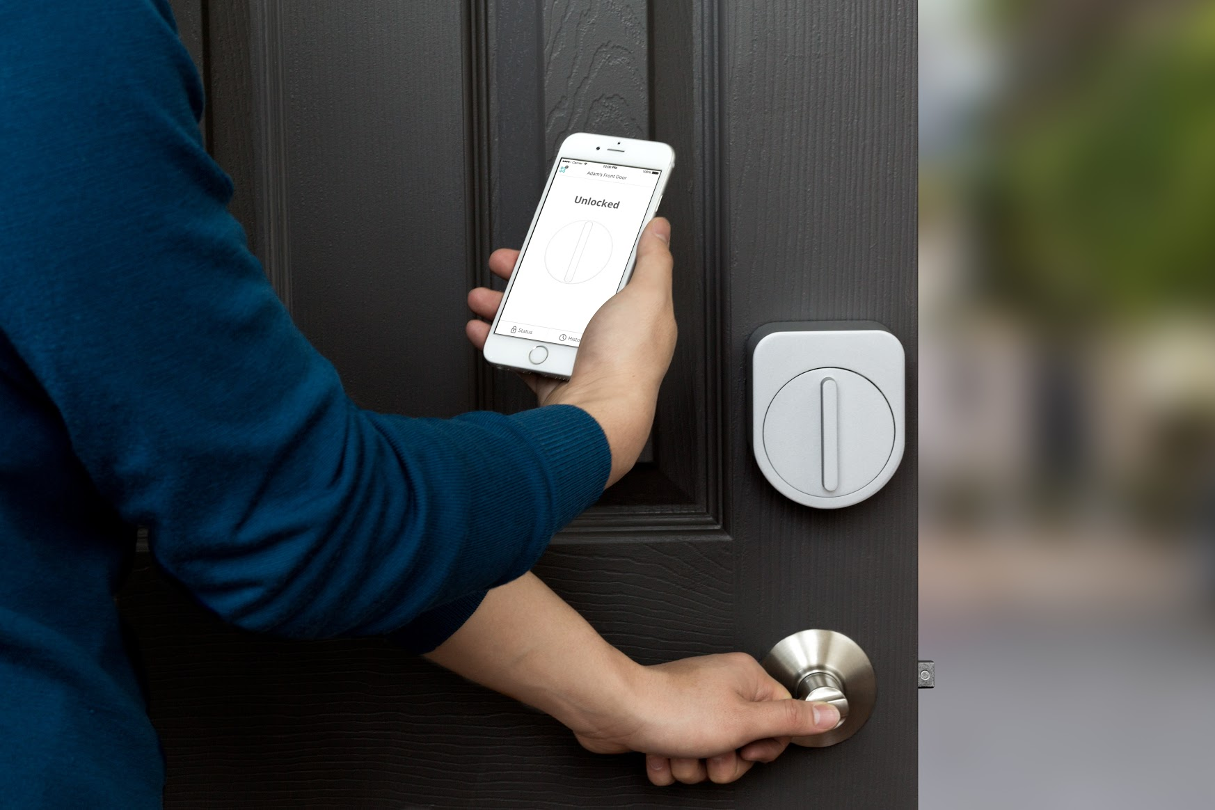 Sesame iPhone smart lock