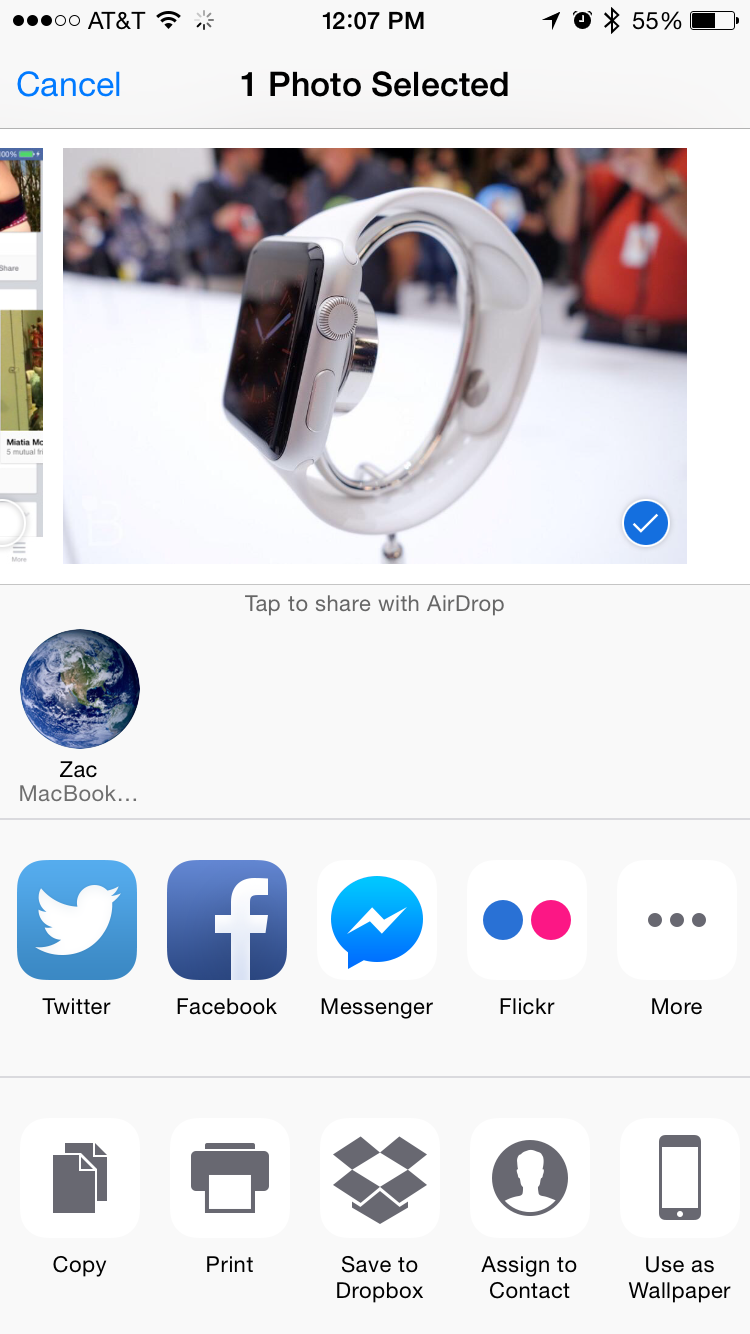 Facebook Messenger adds iOS 8 extension, Wordpress gains WYSIWYG