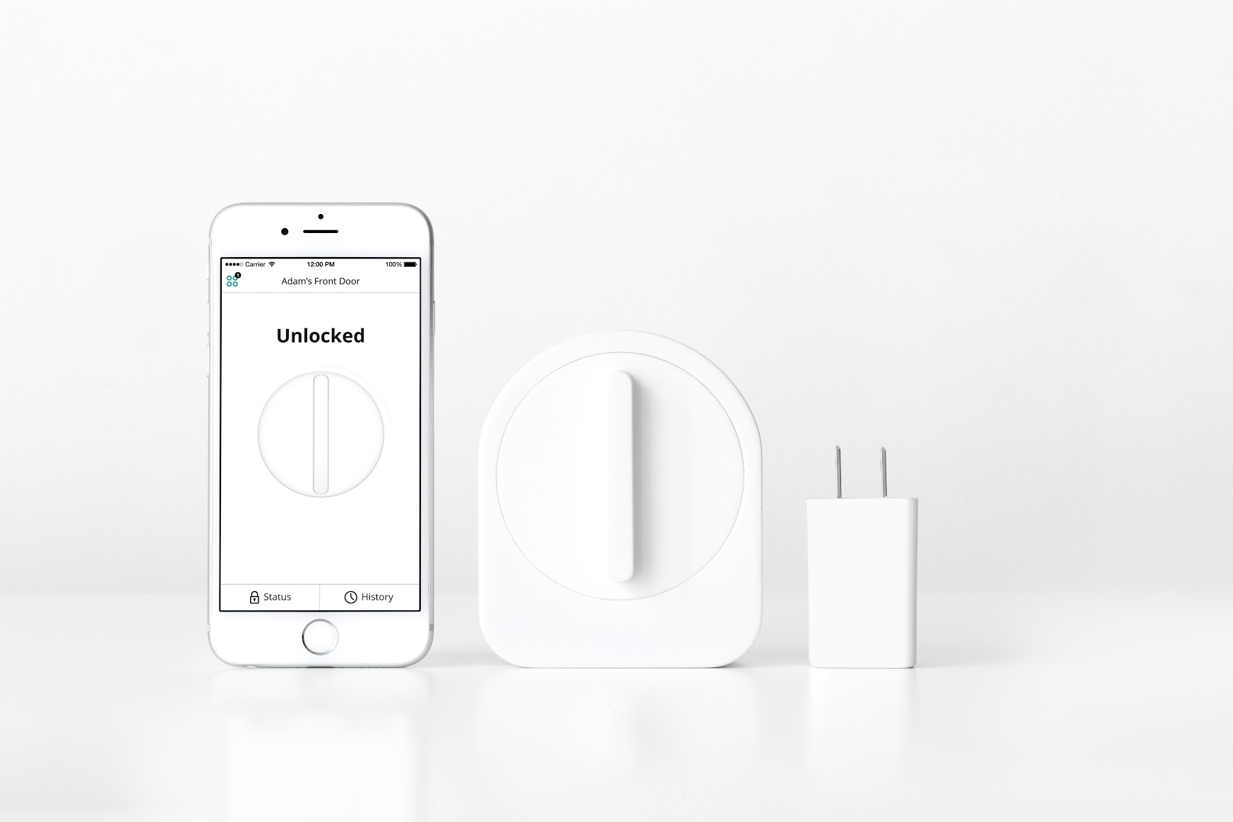 Sesame iPhone smart lock with WiFi Access Point