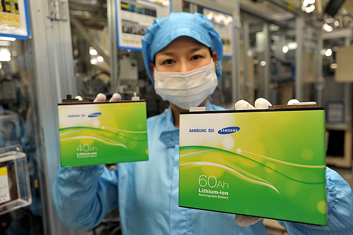Samsung-batteries