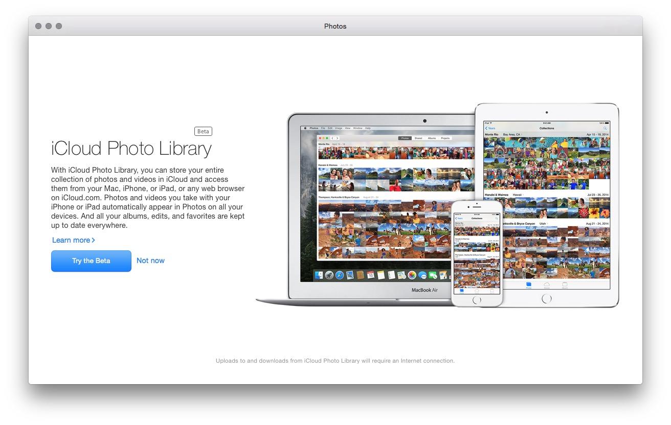 Photos Mac Beta