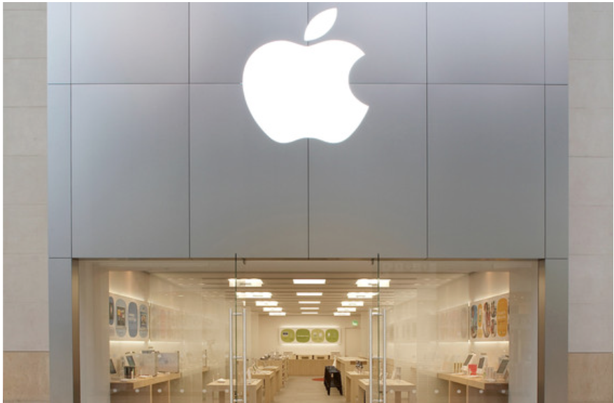 The Apple Store in Birmingham, England – one of the stores affected