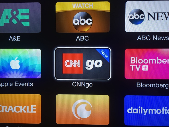CNN Apple TV CNNgo