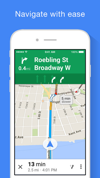 Google Maps iOS app adds full-screen maps, improved voice ... on