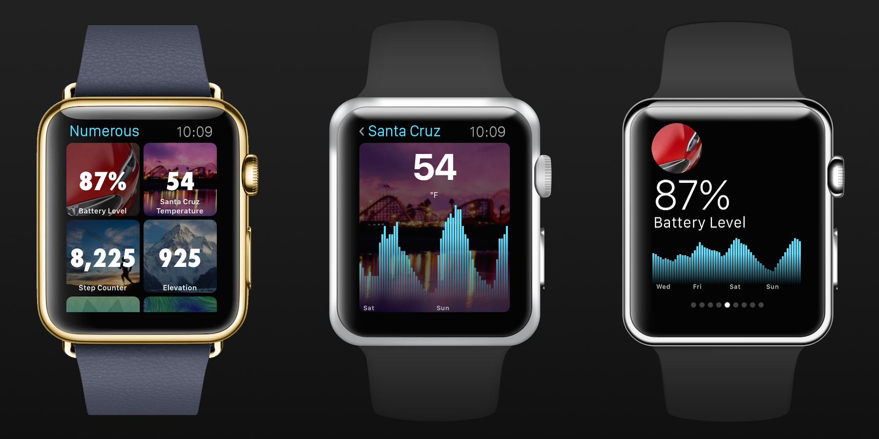 Numerous Apple Watch I