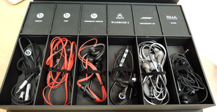 Apple Store In-Ear headphone kit