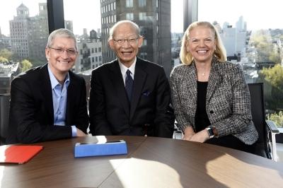 Apple IBM Japan Post