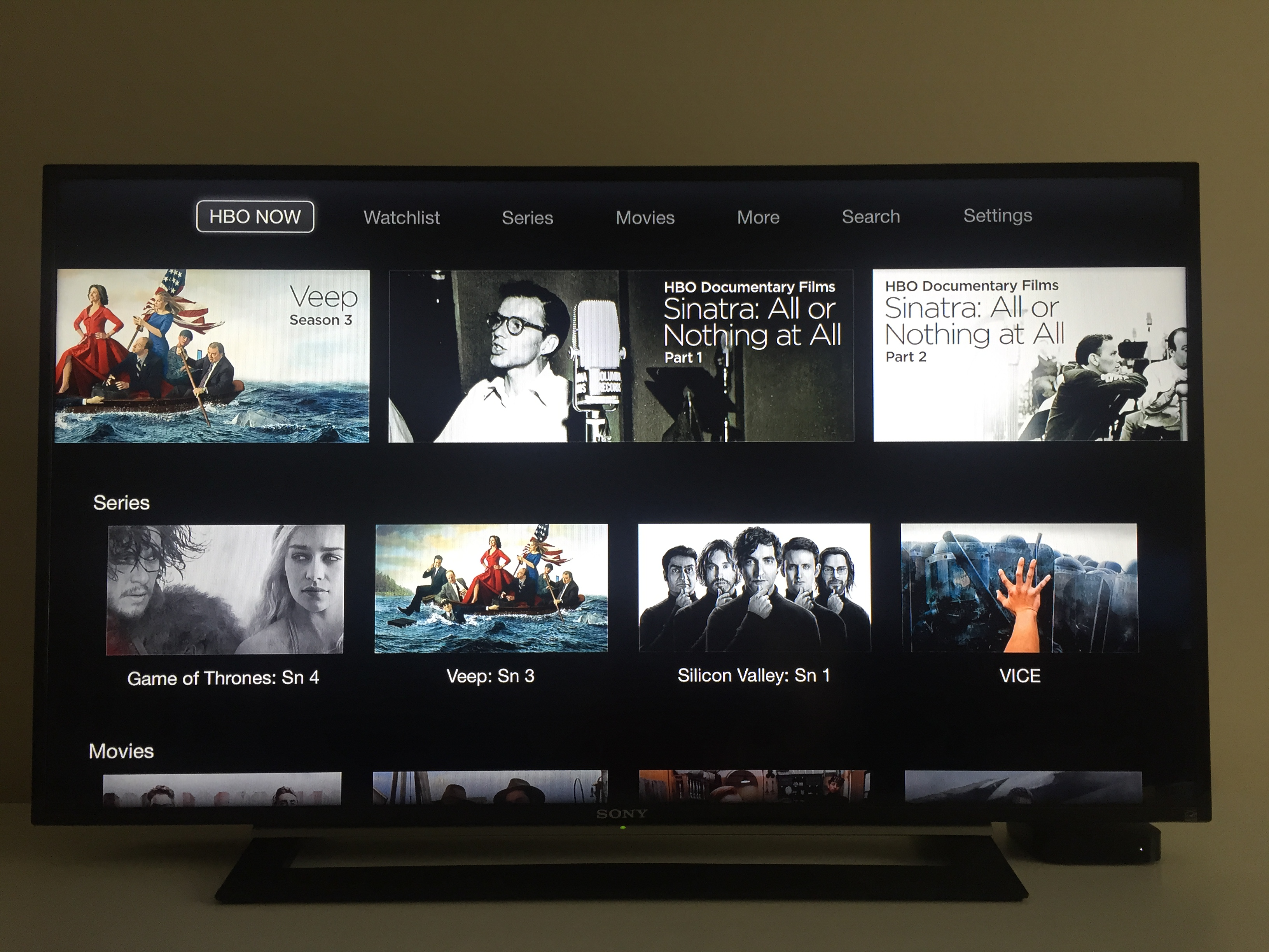 HBO NOW standalone streaming service debuts on Apple TV