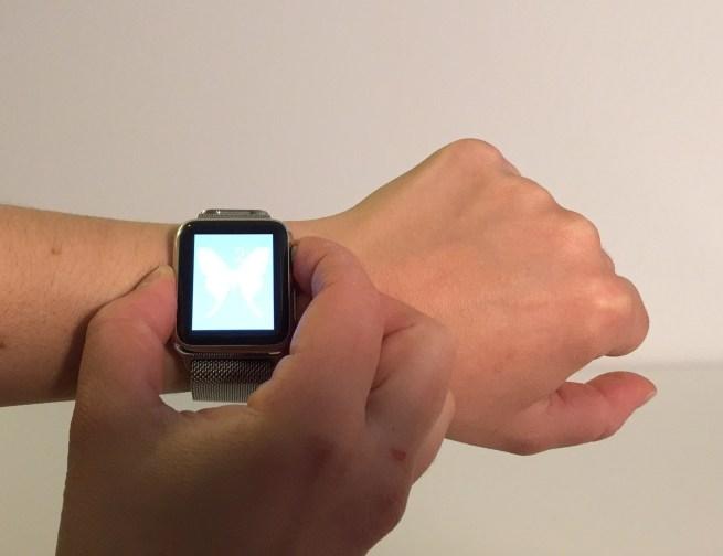 Apple Watch take screenshot