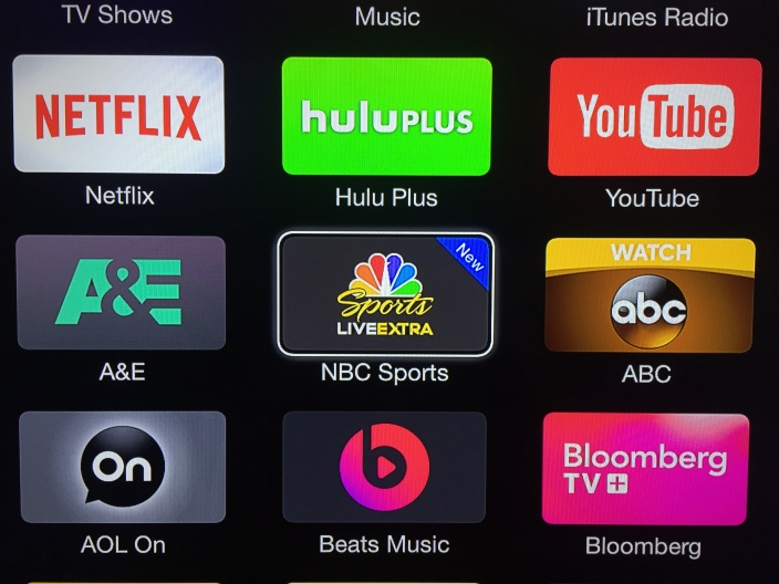 NBC Sports Apple TV