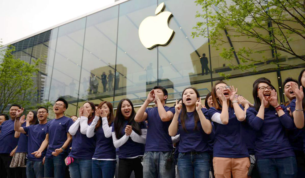 Hangzhou Opens Second Apple Store