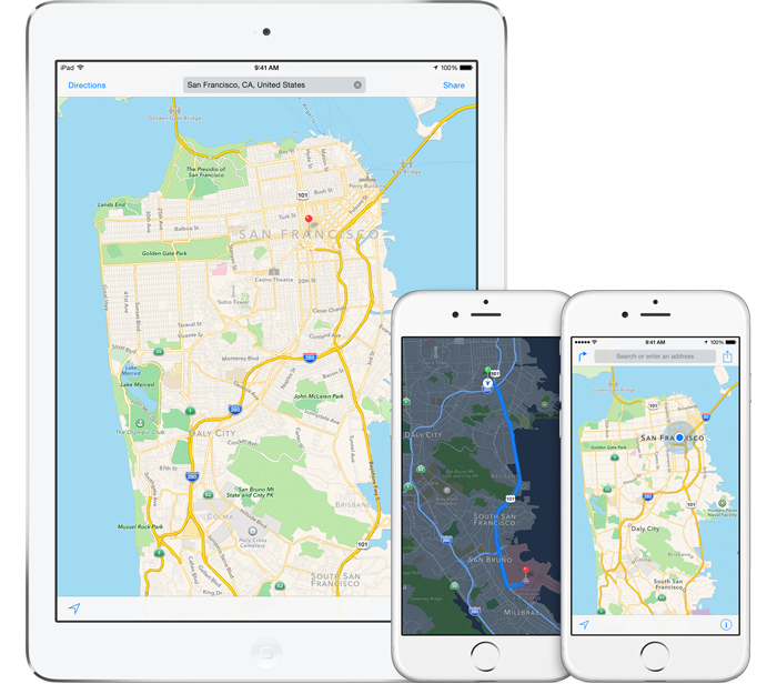Apple retains TomTom for Maps as Nokia continues HERE sale ...
