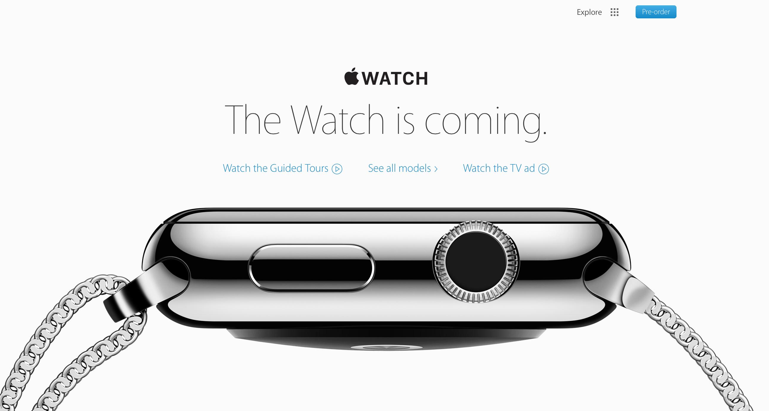1st Generation Apple Watch