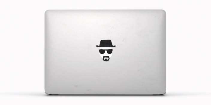 MacBook Breaking Bad Sticker